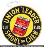 Union Leader Tobacco Sign