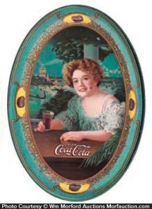 1909 Coke Tip Tray