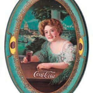 1909 Coke Tip Tray