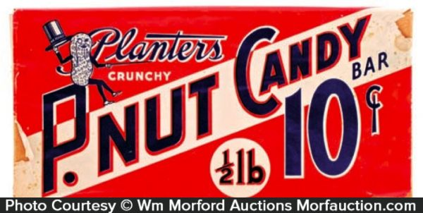 Planters Canadian P.Nut Candy Bar Box
