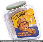 Planters Summer Jumbo Block Jar