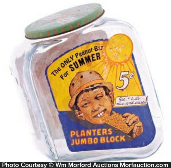 Planters Summer Jumbo Block Jar