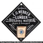 Webber Lumber Match Holder