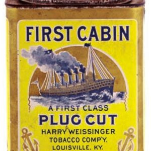 First Cabin Tobacco Tin