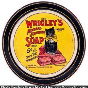 Wrigley's Soap Tip Tray