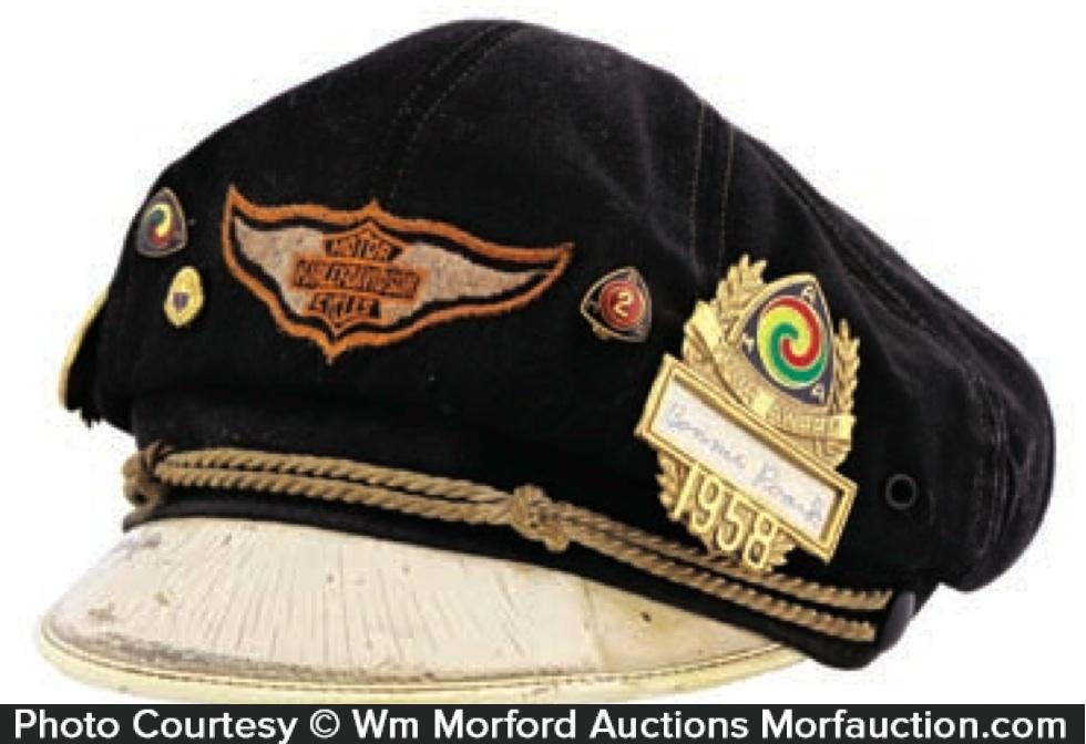 Buy Genuine Harley-Davidson Road Captains Hat Cap ...  |Vintage Harley Davidson Hats