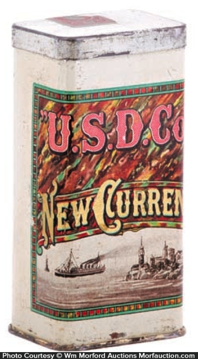 New Currency Cigar Can