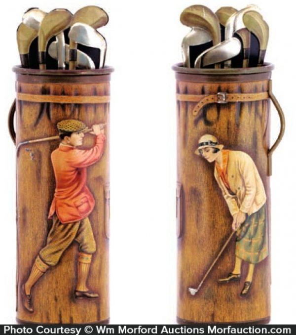 Robinson Bros. Golf Theme Tin