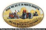 North Dakota Pocket Mirror