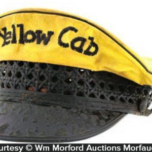 Yellow Cab Taxi Cap