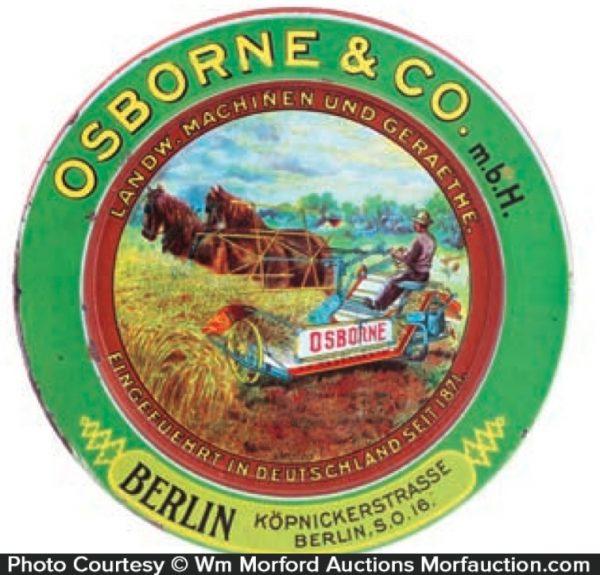 Osborne Harvesters Tip Tray