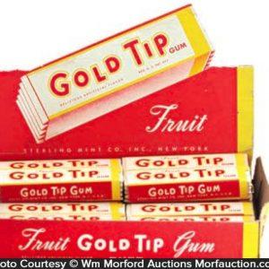 Gold Tip Gum Display
