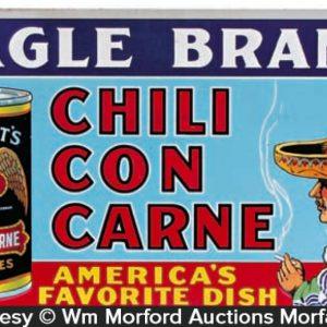 Eagle Chili Con Carne Sign