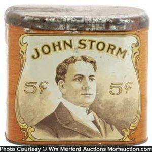 John Storm Cigar Tin