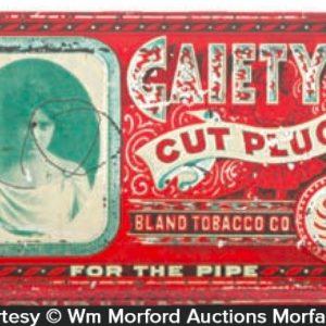 Gaiety Pipe Tobacco Tin