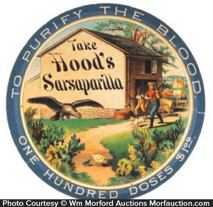 Hoods Sarsaparilla Sign