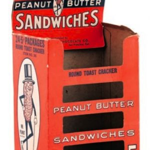 Planters Peanut Butter Sandwiches Display