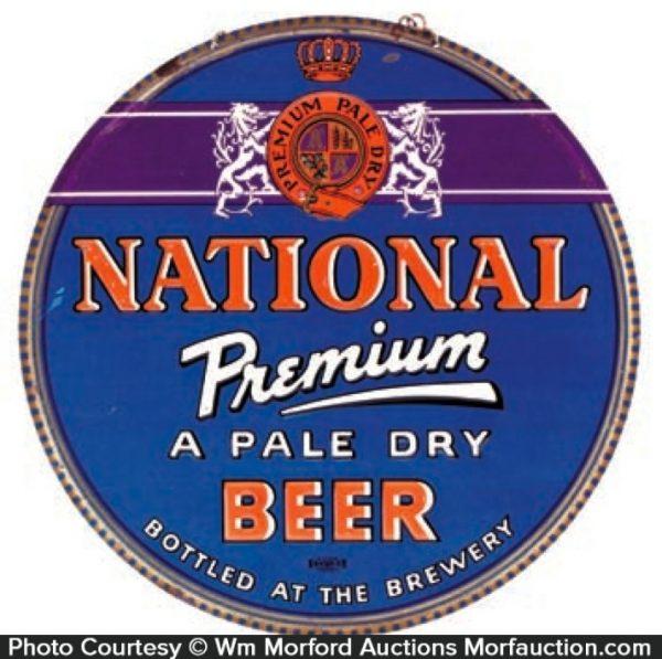 National Beer Sign