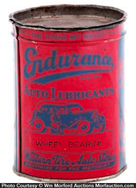 Endurance Lubricants Grease Tin