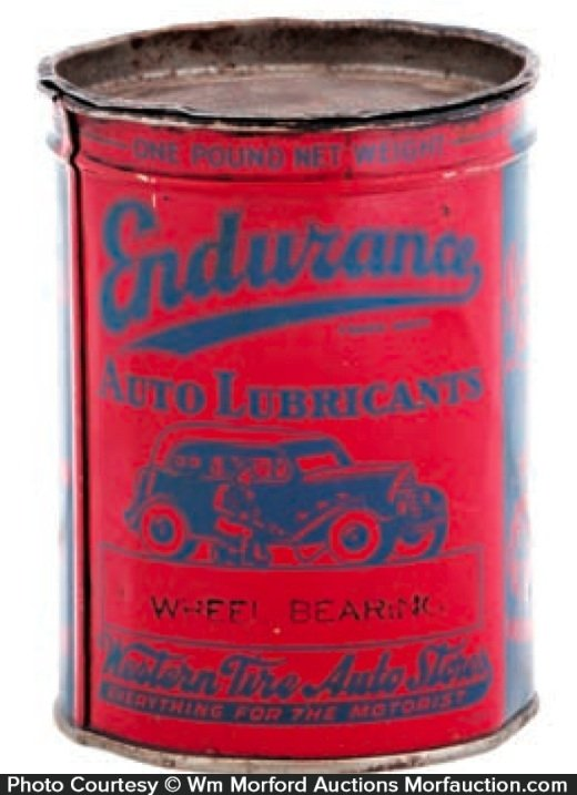 Endurance Lubricants Grease Tin