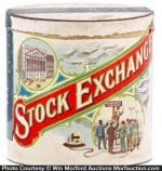Stock Exchange Cigar Can