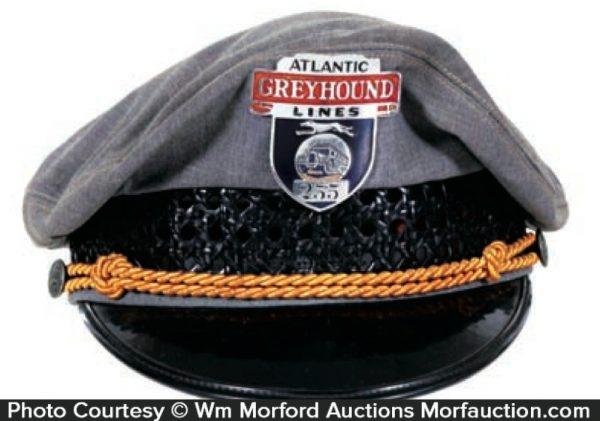 Greyhound Cap and Badge
