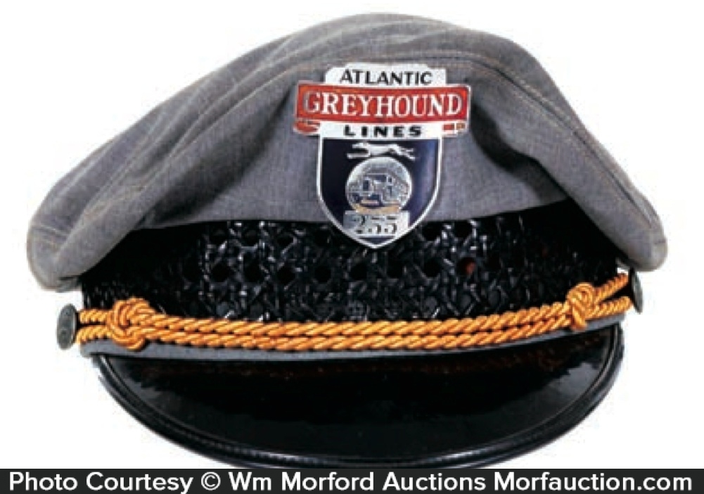 Greyhound Cap and Badge