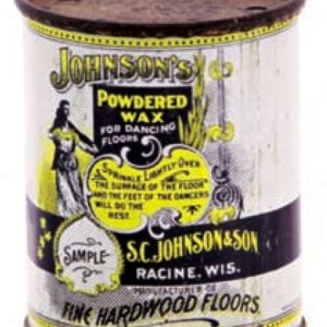 Johnson's Powdered Wax Sample Tin