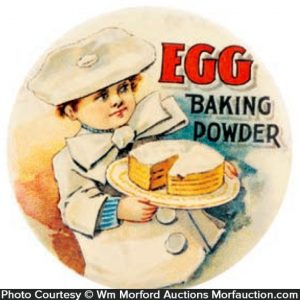 Egg Baking Powder Mirror