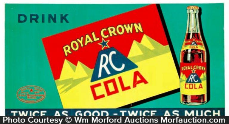 Royal Crown Cola Sign • Antique