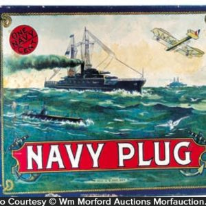Navy Plug Candy Box