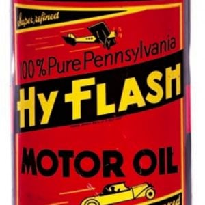 Hy Flash Motor Oil Can