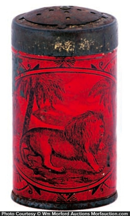 Early Lion Spice Tin