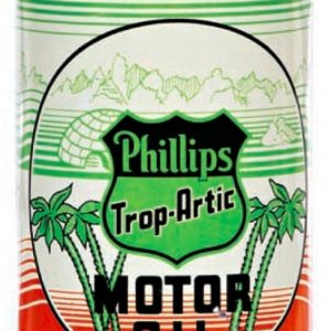 Phillips Trop-Artic Motor Oil Can