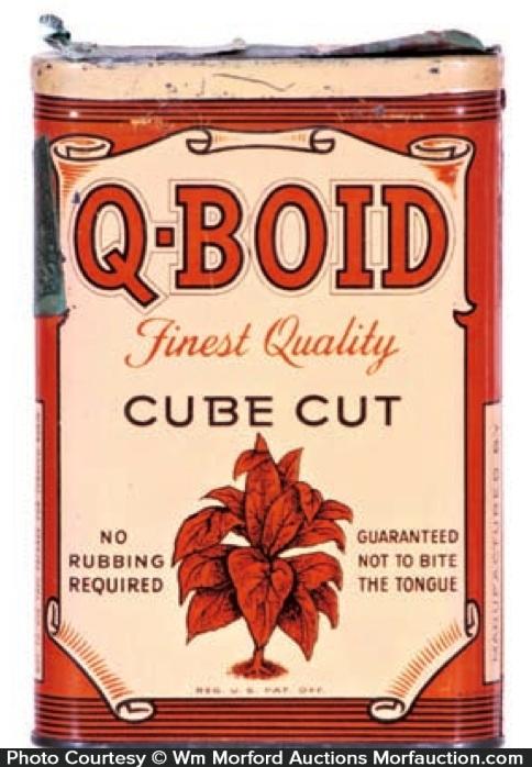 Q-Boid Tobacco Tin