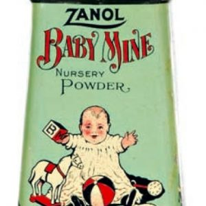 Zanol Baby Mine Tin