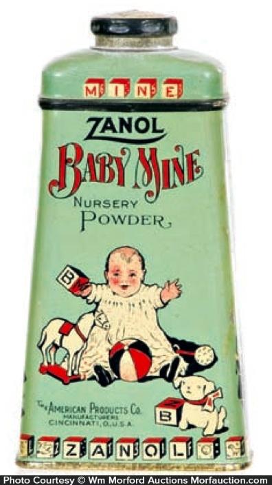 Zanol Baby Mine Tin