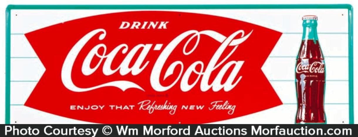 1960's Coca-Cola Sign