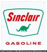 Porcelain Sinclair Gasoline Sign