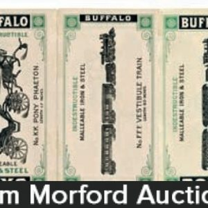 Buffalo Iron Toy Catalog