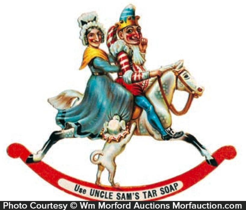 Uncle Sam Tar Soap Die-Cut