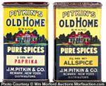Old Home Spice Tins