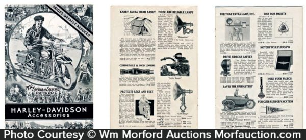 Harley Davidson Accessories Catalog