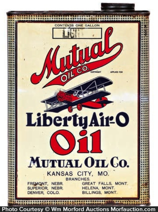 Liberty Air-O Oil Can