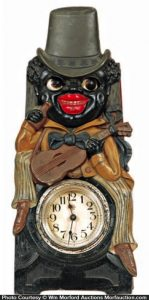 Black Man Clock