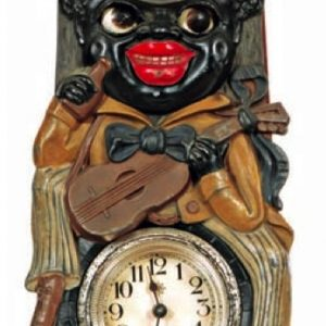 Black Man Clock
