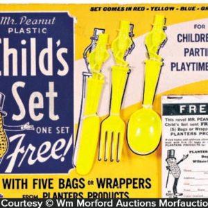 Planters Child's Dinning Set