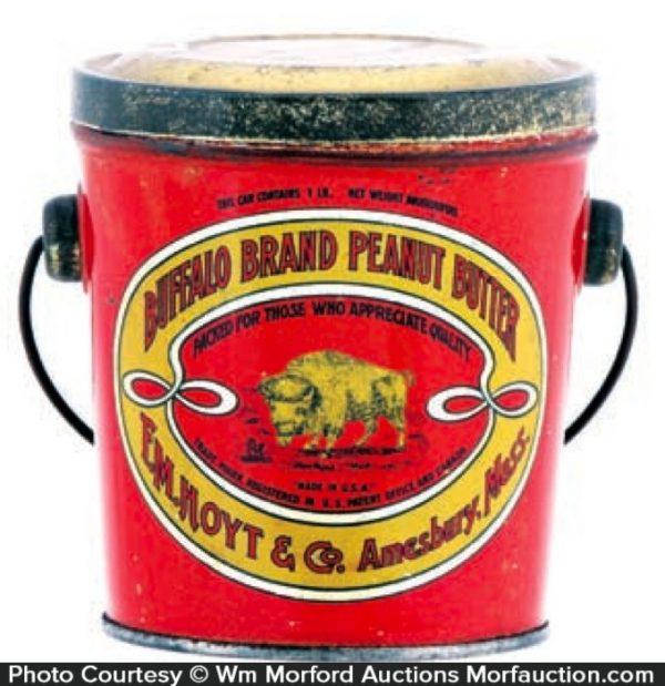Buffalo Peanut Butter Tin