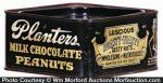 Planters Chocolate Peanuts Tin