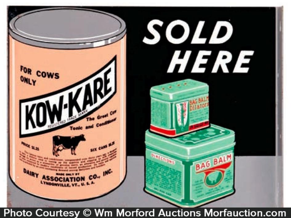 Kow-Kare Sign